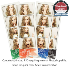 Touched by Monet 4-up Strips