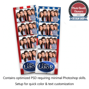 American Holiday 4-up Strips