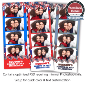 Flying Flags 4-up Strips