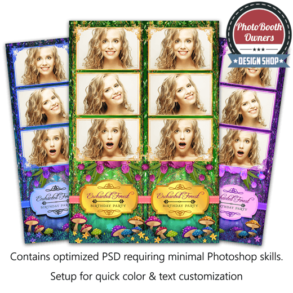 Enchanted Forest 3-up Strips