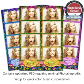 Enchanted Forest 4-up Strips