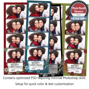 Holiday Glow 4-up Strips