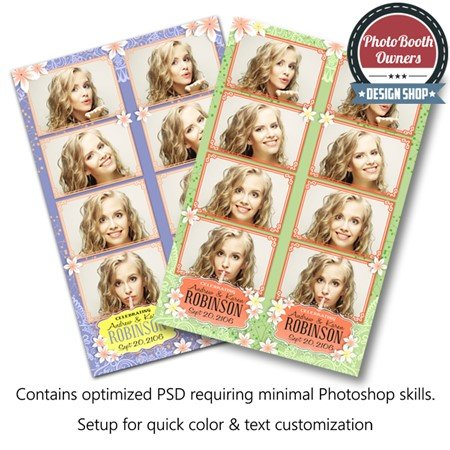 Blossom Beauty 4-up Strips 1