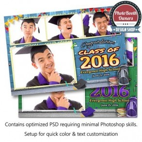 Graduation Time Postcard