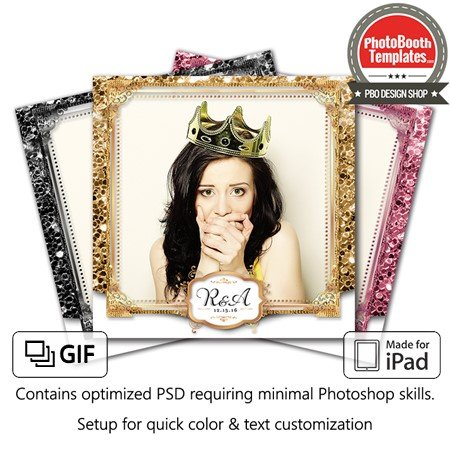 Glitz and Glam Square (iPad)