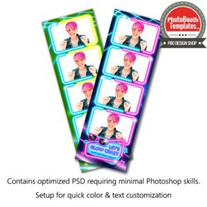 Glow Party 4-up Strips