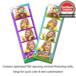 Easter Basket Celebration 4-up Strips