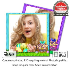 Easter Basket Celebration Square (iPad)