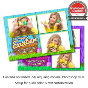 Easter Basket Celebration Postcard