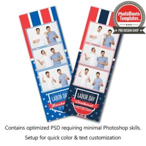 American Event 3-up Strips