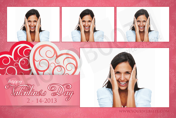 Valentine\'s Crush Photo Booth Templates Breeze, Photoboof, Sparkbooth