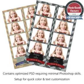 Herringbone Photo Strips