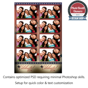Stars & Stripes America Photo Strips