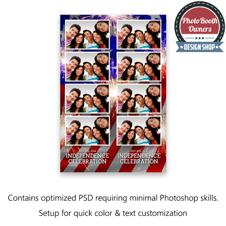 American Spirit Photo Strips 1