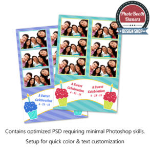 A Sweet Celebration Photo Strips