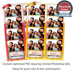 Party Spirits Photo Strips