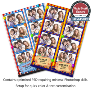 Carnival Celebration Photo Strips