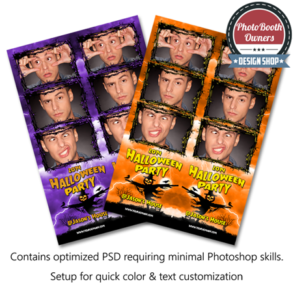 Scarecrow Halloween Photo Strips