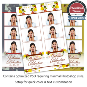 Autumn Celebration Photo Strips