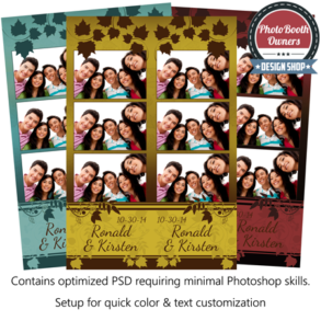 Autumn Blend Photo Strips