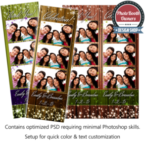 Sparkle Dazzle Photo Strips