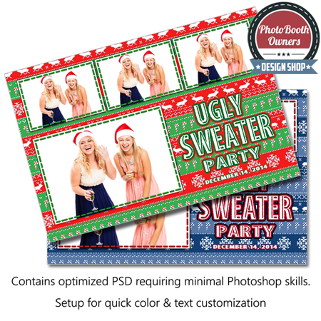 Christmas Sweater Postcard 1