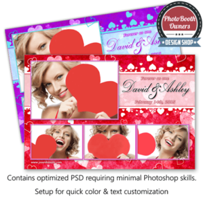 Whispering Hearts Celebration Postcard