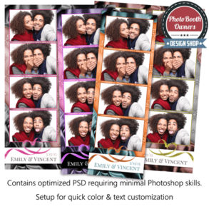 Silk and Spendor 4-up Strips