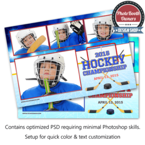 Hockey Celebration Postcard