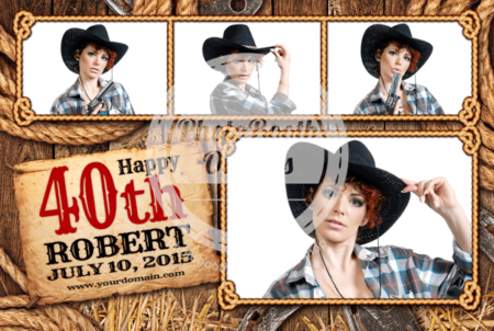 Country Time Celebration Postcard