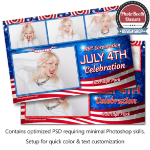 Patriotic Celebration Postcard