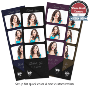 Classy Leather Photo Strips