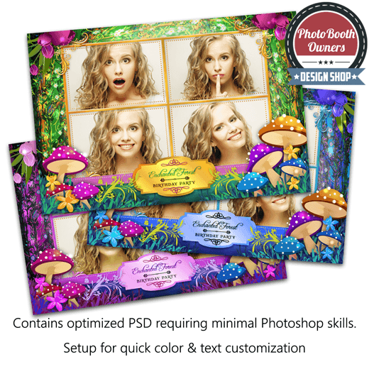 Enchanted Forest Postcard 1