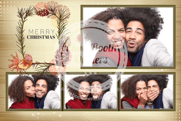 Rustic Holiday Postcard
