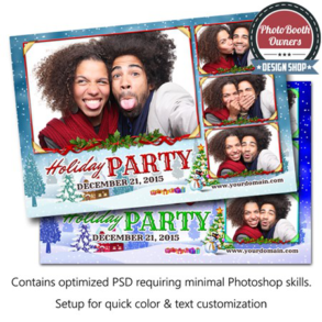 Winter Wonderland Celebration Postcard