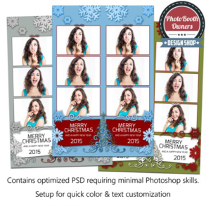 Holiday Glow 3-up Strips