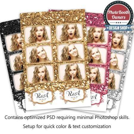 Glitz and Glam 3-up Strips 1
