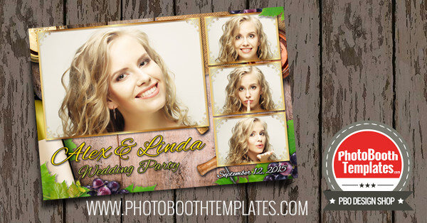 9 new photo booth templates