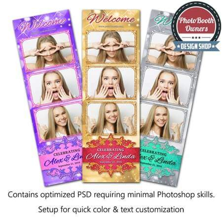 Royal Radiance 3-up Strips 1