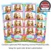 Colorful Candy Land 4-up Strips 1