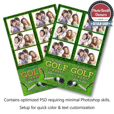 Par-Tee Time Celebration 3-up Strips 1