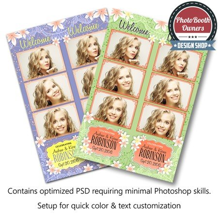 Blossom Beauty 3-up Strips 1