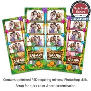 Safari Adventure 3-up Strips