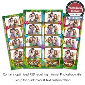 Safari Adventure 4-up Strips