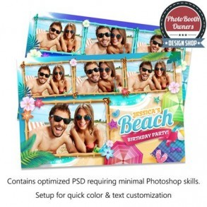 Ultimate Beach Party   Postcard