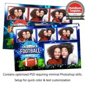 Football Touchdown! Postcard