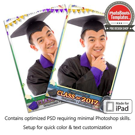 Graduation Time Portrait (iPad)