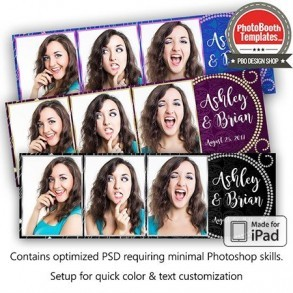 Diamonds Girls Best Friend Postcard (iPad)