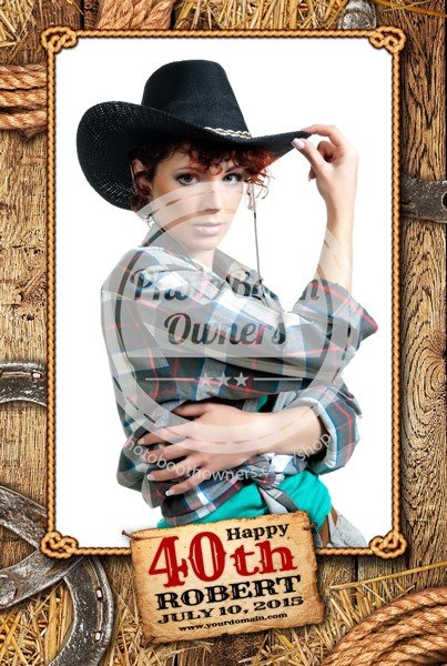 Country Time Celebration Portrait