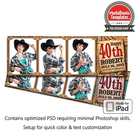Country Time Celebration Postcard (iPad) 1